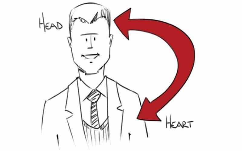 manage emotion - build sales relationships