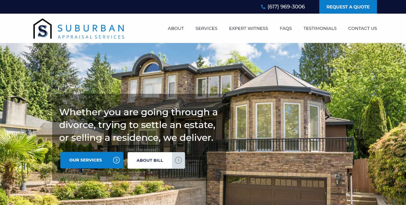 suburban appraisal - business strategy coaching client